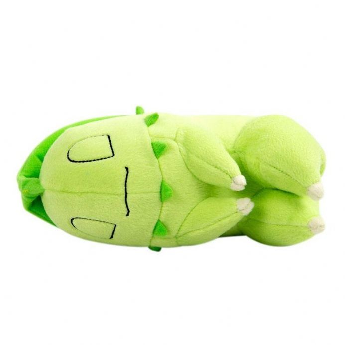 Pokemon Sleeping Chikorita Plush | Buy now at The G33Kery - UK Stock - Fast Delivery